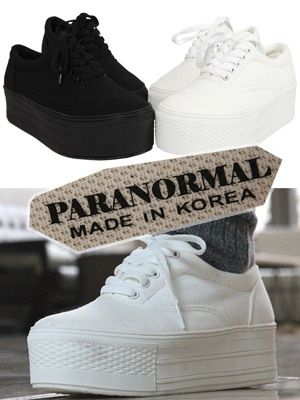 MADE IN PARANORMAL!! 5cm통굽운동화♥